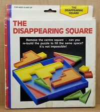 The Disappearing Square Puzzle Four Star Vintage Children's Home Toy Mosaic