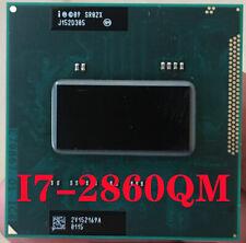 Free shipping Intel Core i7-2860QM SR02X Quad Core 2.5-3.60GHz//8M CPU processor