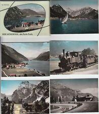 (f244+) foto original achensee/Tirol, 12 colorierte fotos en Porta