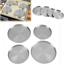 4Pcs Stainless Steel Kitchen Stove Top Burner Covers Cooking Protection Cover BT