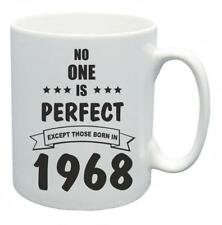 51st Novelty Birthday Gift Present Tea Mug No One Is Perfect 1968 Coffee Cup