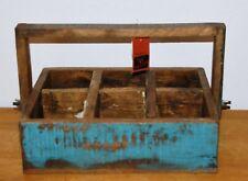Flaschenträger / Teak / Holz  / Massivholz / recyceltes Teakholz / Vintage