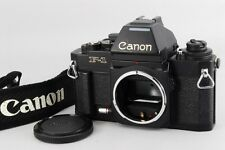 Near MINT Canon New F-1 F1 AE Finder Black SLR Film Camera Body From Japan a399