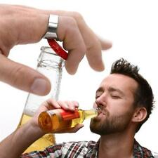Ring Bottle Opener Bar Gadget Gift Beer Cider Opening Party Accessory 2 pack
