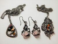 VINTAGE Mid Century Modern Brutalist Jewellery Lot