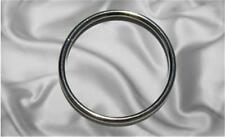 "10pcs - 2"" Metal O Rings Non Welded Nickel (ORG-132)"