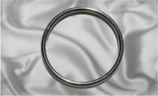 "10pcs - 2"" Metal O Rings Non Welded Nickel (ORG-132)"