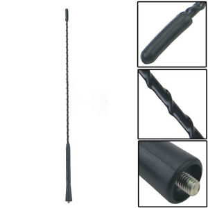"16"" Black Car Auto Roof For Fender Radio FM AM Signal Antenna Aerial Extend"