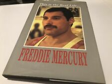 Queen Fredie Mercury This Is The Real Life Hardback Book