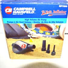 Campbell Hausfeld 12 Volt Inflator High Volume Air Pump RP1100
