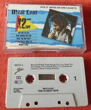 """MEAT LOAF - UK CASSETTE TAPE - 12"""" TAPE - FIVE 12"""" MIXES ON ONE TAPE"""