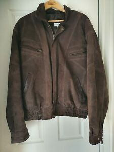 Mens Genuine Leather Jacket. Charles Klein Large