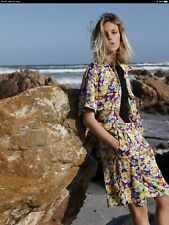 Zara Co-ord Floral  Bermuda Short And Shirt Set Size Small. BNWT