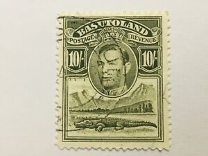 old stamp  BASUTOLAND  10/   KGVI