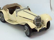 """Franklin Mint Precision Model 1938 Jaguar Ss-100 Diecast Roadster 6.5"""" x 3"""" x 2"""""""