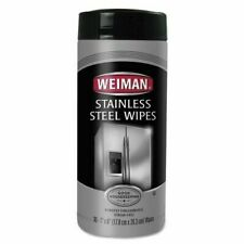 Weiman Stainless Steel Cleaner Wipes Fresh 30 wipes Count
