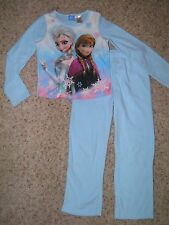 Girls Disney Frozen 2pc Fleece Pajamas Size 7/8