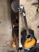 Epiphone PRO-1-VS acoustic dreadnought guitar Players Axe Sunburst