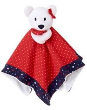 GYMBOREE ADORABLE GIFTS RED w/ WHITE DOTS PUPPY DOG PLUSH TOY GIRLS BLANKET NWT