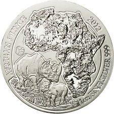[#428700] Rwanda, 50 Francs, 2012, MS(65-70), Silver, KM:37