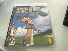 everybody s golf 5  sur playstation 3