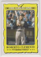 2021  Topps Heritage Baseball ROBERTO CLEMENTE The Great One Card # 12 - PIRATES