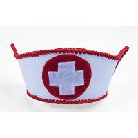 Mini Nurse Hat Cap Sexy Womens Adult Halloween Costume Accessory