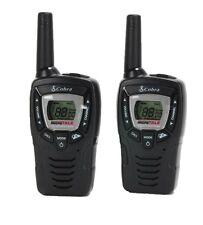 (2) COBRA CX312 23 Mile 22 Channel FRS/GMRS Walkie Talkie 2-Way Radios w/ VOX