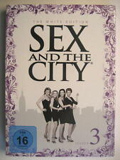 SEX AND THE CITY SEASON 3 THE WHITE EDITION - 3 DVD BOX - OVP