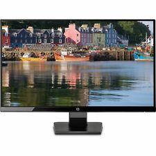 HP 27w IPS Monitor Display HDMI VGA 1920x1080 FHD IPS 5ms U-Edge UK or EU CABLE