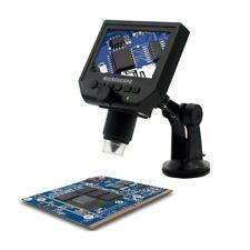 Portable 600X HD 3 .6MP CCD Pixel 4.3 Inch OLED Display LCD Digital Microscope A