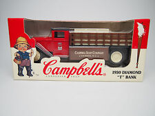 ERTL 1996 Campbell's Soup Die Cast Truck 1930 Diamond T Bank #1616 Mint In Box