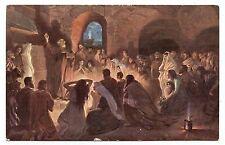 JAN STYKA.L'APÔTRE PIERRE AUX CATACOMBES.APOSTLE PETER AT CATACOMBES.