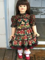 Patti Play Pal, or Little Girls Holiday DRESS ONLY, size 2T , PLEASE READ !
