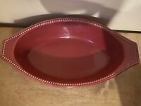 Food Network Stoneware Provence Casserole Dish
