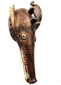 Art African Arts First - Mask Zoomorphic Animal Igala - Nigeria - 42 CMS