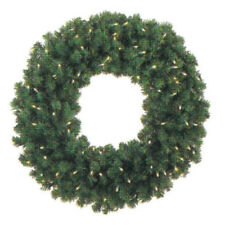 5 Foot Pre-lit Commercial Grade Christmas Wreath with 400 Led.Brand New still i
