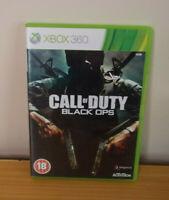 Call of Duty: Black Ops - Microsoft Xbox 360 Game Free P&P UK