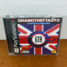 Grand Theft Auto: London 1969 (PS1) RARE. Brand New / Sealed! Near Mint!