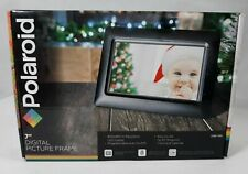 "Polariod 7"" Digital Picture Frame PDF-700 With Black Matte Frame"