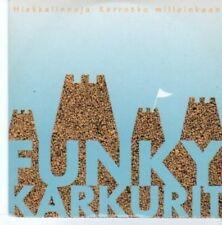 (BG39) Funky Karkurit, Hiekkalinnoja - 1994 CD