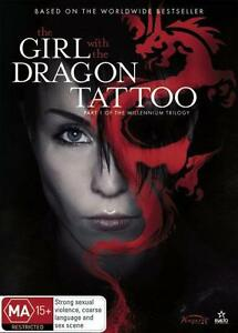 THE GIRL WITH THE DRAGON TATTOO (PART 1 OF TRILOGY) - BRAND NEW & SEALED R4 DVD