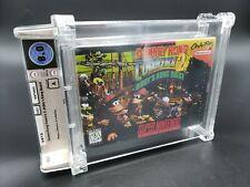 Donkey Kong Country 2: Diddy's Kong (Super Nintendo) Wata Graded 8.0 A Sealed