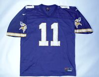 Vintage Nike Minnesota Vikings Daunte Culpepper #11 Jersey Size XL NFL Football