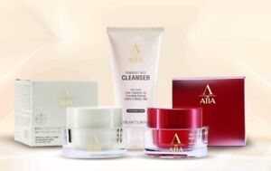 ATIA FACIAL Day cream SPF20 & ANTI-AGING Wrinkle Night Cream& Foaming cleanser