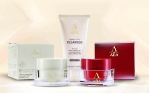 ATIA FACIAL Day cream SPF20 & ANTI-AGING Wrinkle Night Cream& Foaming cleanser