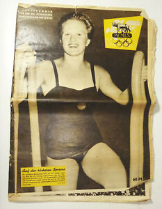 DDR Sport im Bild Sondernummer XVII olympische Sommerspiele 1960 in Rom !