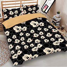 Mickey Mouse Duvet Cover Set for Comforter Twin Full Queen King Size Bedding Set