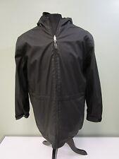 Weatherproof Coat Jacket Reversible Full Zip Adjustable Waist Hooded Men's L