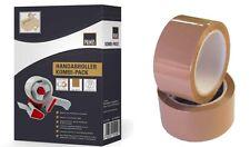 Klebeband 36 Rollen  Paketklebeband+Abroller + 2 x Paketklebeband transparent